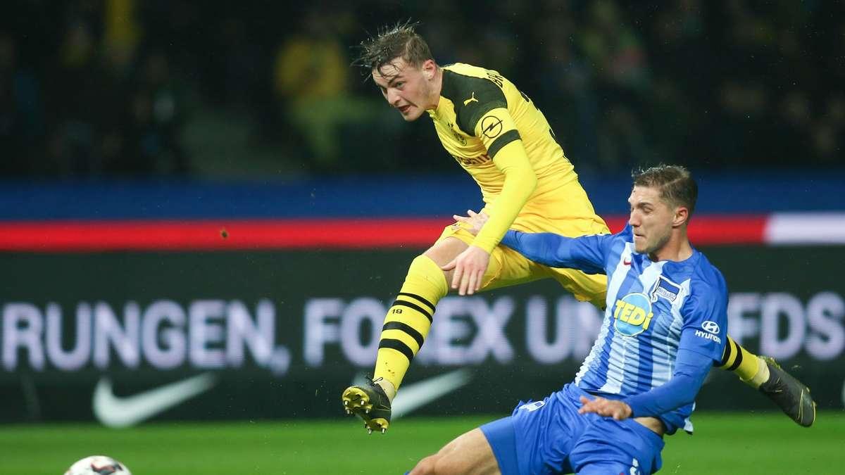 Hertha Bsc Borussia Dortmund Bvb Ubertragung Live Im Tv