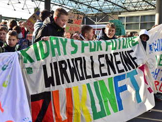 Fridays for future Demo in Hamm