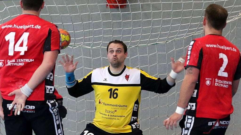 Kai Kleschulte verdrehte sich gegen Hombruch das linke Knie.© Markus Liesegang