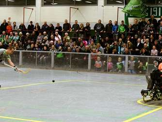 Punktgewinn in der Rollhockey Euroleague: G. Herringen - H. Sarzana 3:3