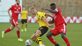 Bvb Testspiel Borussia Dortmund Verliert Bei Debut Von Erling Haaland Gegen Mainz 05 Bvb 09