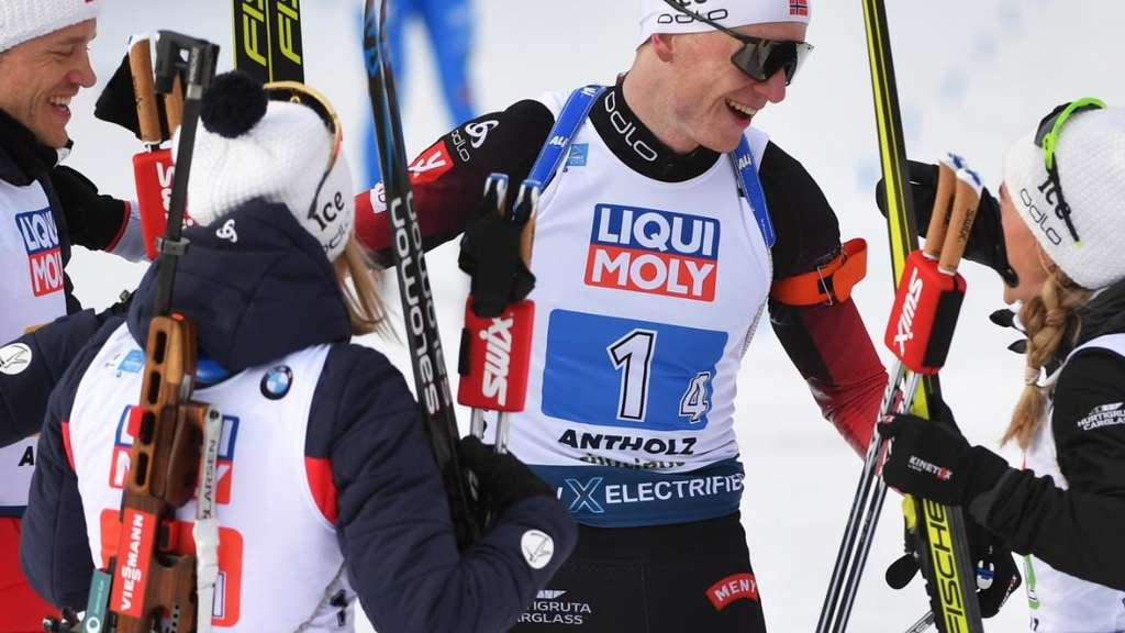 Biathlon-WM 2020 in Antholz: Der Medaillenspiegel