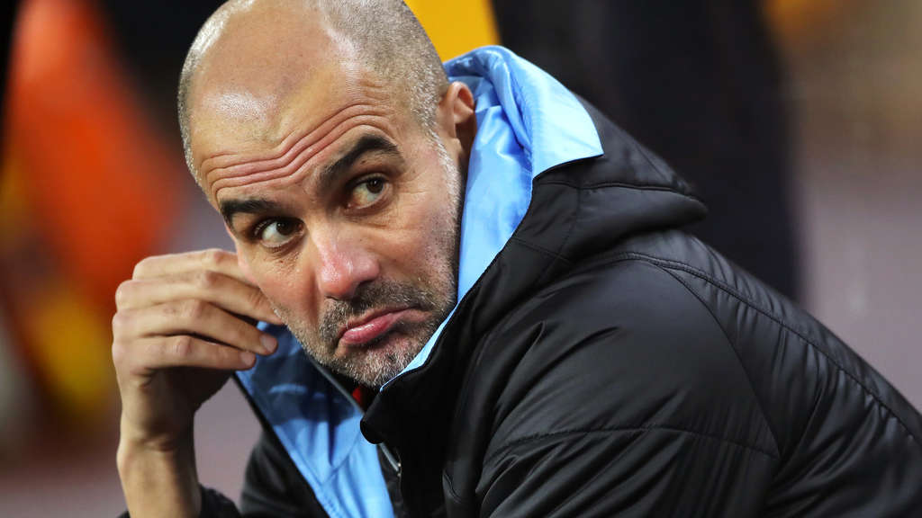 Trainer von Manchester City: Pep Guardiola.
