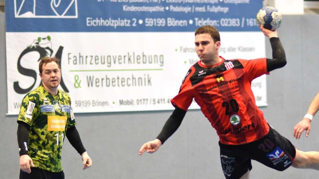 Luca Tröster drehte in dem entscheidenden Moment auf und erzielte alle seine vier Tore in der Schlussphase.© Boris Baur