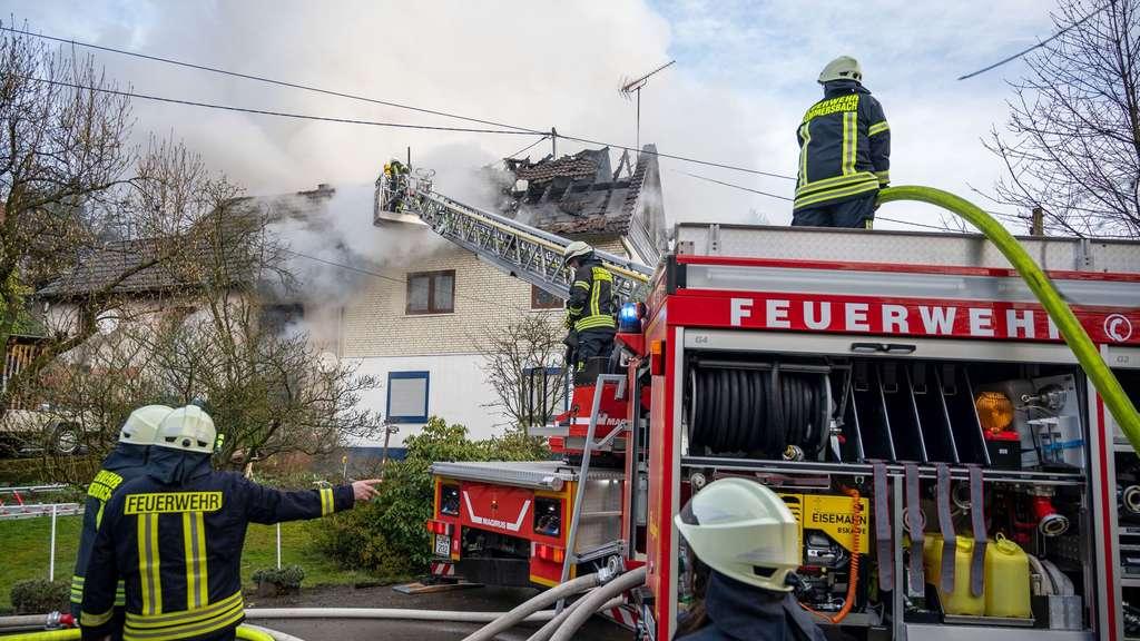 Feuer In Gummersbach