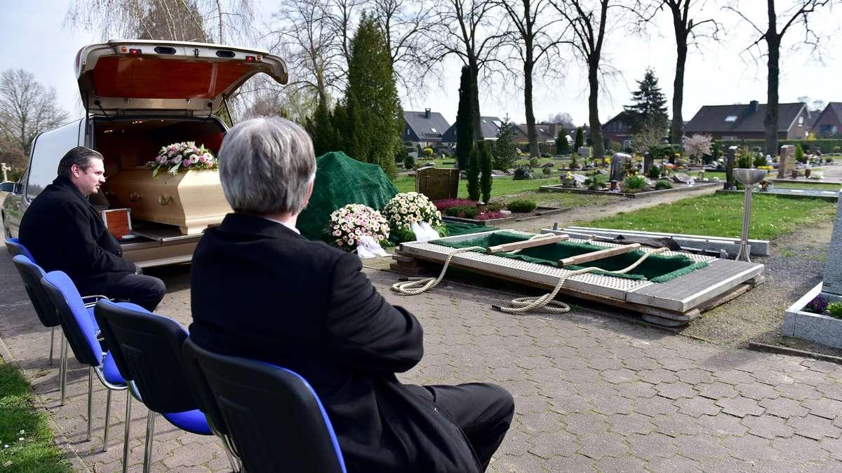 Beerdigungen Corona Nrw