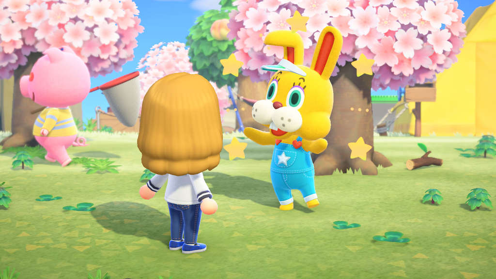 """Animal Crossing: New Horizons"" feiert bis zum 12. April den Häschentag."