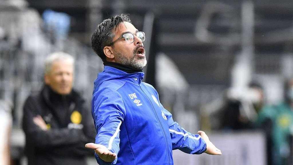 Schalkes Trainer David Wagner gerät in Kritik.