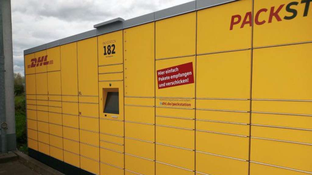 Neue DHL-Packstation am Netto-Markt in Bergkamen-Rünthe