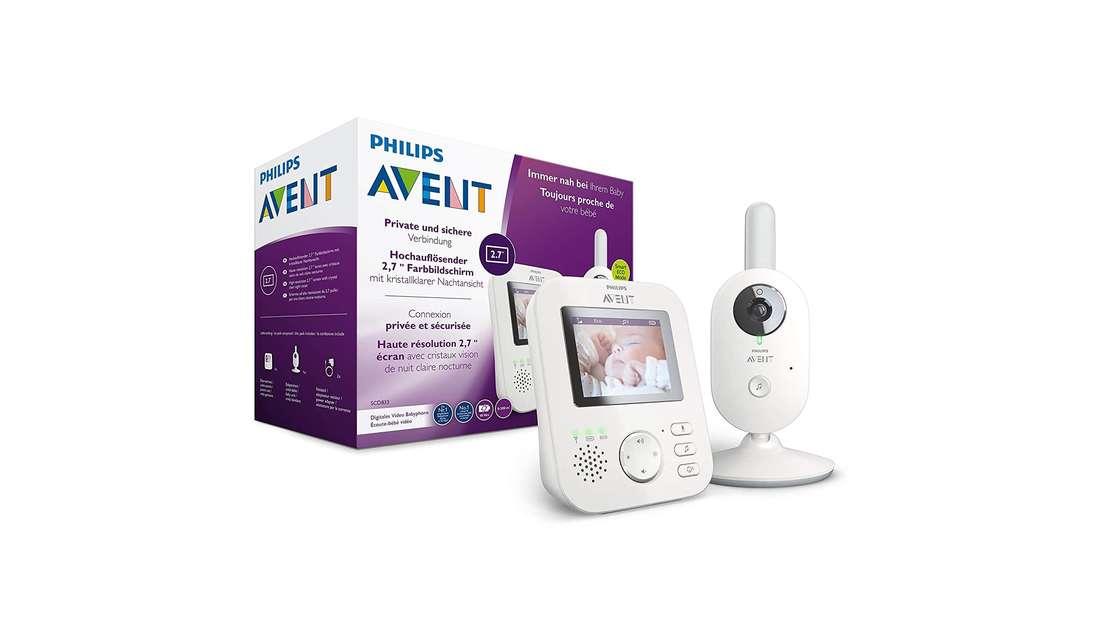 Philips Avent Video-Babyphone mit Kamera SCD833/26