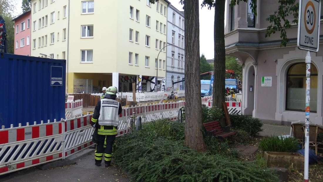 Großeinsatz in Dortmund-Mitte: Wegen eines Gaslecks besteht Explosionsgefahr